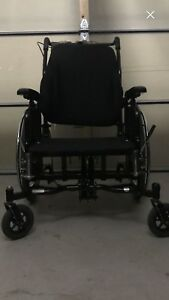Wheelchair  Recliner with tilted head adjustable and recliner