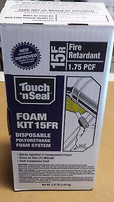 2 Kits Touch 'n Seal 15 FR Standard Foam Kit - 4004520015, Home Insulation,Spray