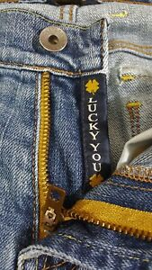 Lucky Brand Womens Distressed Jeans, Size 4, Size 27 Bootcut Pants,
