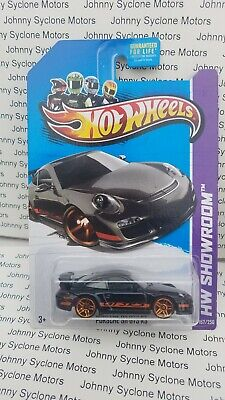 HOT WHEELS PORSCHE 911 GT3 RS COUPE HW SHOWROOM BLACK