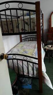 Bunk Beds with Mattresses, Excellent Condition Wollongong 2500 Wollongong Area Preview