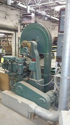 36 Tristate Wood Cutting T36-4 Resaw By Kimwood 20 Hp 230460v