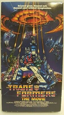 VHS Transformers The Movie 1999 Eric Idle Orson Welles Leonard Nimoy TESTED