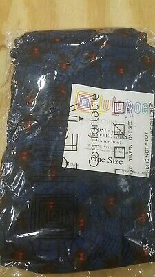 Lularoe OS Halloween Leggings Dark Blue w/ BLACK WIDOW SPIDERS NEW FAST SHIPPING