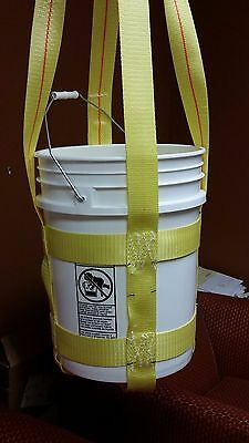 Trident Supply 5 Gallon Bucket Lifting Sling 44 Height Wll 300 Lb.sling Only