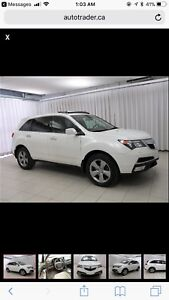 2013 Acura MDX - only 71,000 KMs