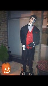 Animated Halloween Butler- life size-mint condition
