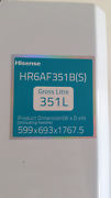 Hisense 351 L  fridge only Bomaderry Nowra-Bomaderry Preview