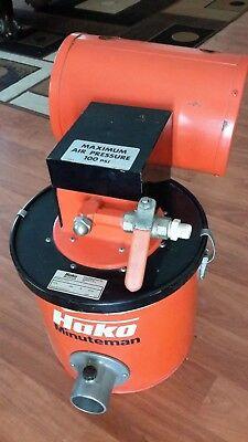 Hako Minuteman Air Vacuum 4 Gallon Pneumatic 100psi