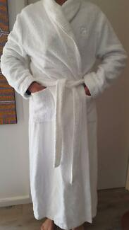 Dressing Gown (towelling - white) - Collezione Givoni