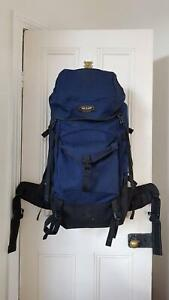 One Planet 75L Outdoor Hiking Camping Travel Backpackk Rucksack Richmond Yarra Area Preview