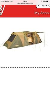 Coleman chalet 3 room tent Rutherford Maitland Area Preview