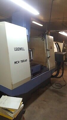 Leadwell Mcv-760ap Cnc Vertical Machining Center