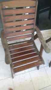 Six timber outdoor chairs Cairns Cairns City Preview