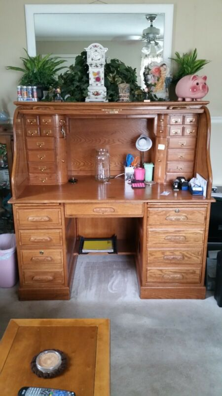 roll top desk good condition