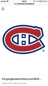 Billets de hockey Canadien