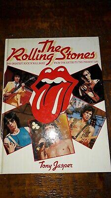 The Rolling Stones Tony Jasper Hardback book Mick Jaggar