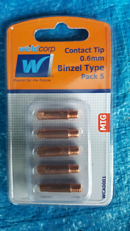MIG Welder Contact Tip 0.6mm 0.8mm and 0.9mm - $5 per pack