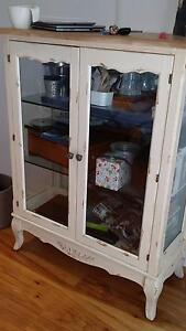 Glass display cabinet Queen Anne French Provincial. New condition Buddina Maroochydore Area Preview