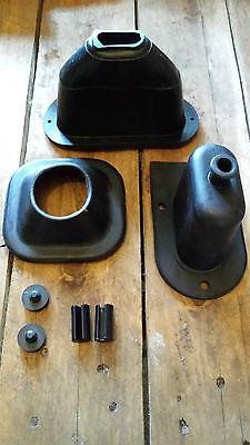 Land Rover Series2A & 3 Lightweight Gaiter Kit DA2466 FREE Bonnet Bushes&Buffers