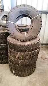 7.50-15 pneumatic forklift tyres x 6 Silver Sands Mandurah Area Preview