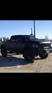 2007 Lifted Duramax Black