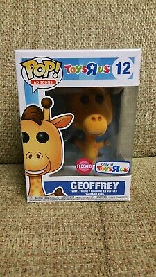 Funko Pop! Ad Icons Flocked Geoffrey #12 Toys R Us Exclusive Brand New
