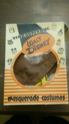 Vintage ben cooper halloween costume Robin Hood Disney INCOMPLETE
