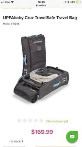 Ups baby Cruz stroller travel bag