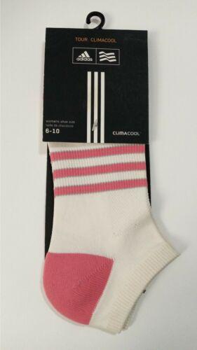 Adidas Tour Clima Cool Low Cut Women Socks 6-10 NEW