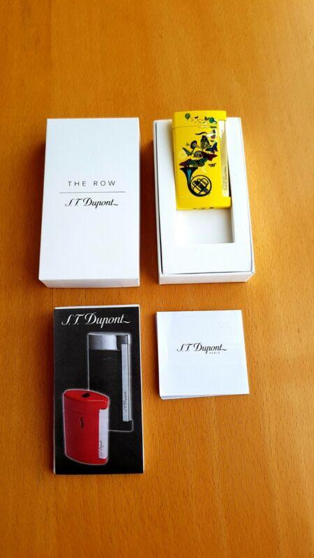S.T. Dupont Slim 7 Lighter ( The Row - Horn)