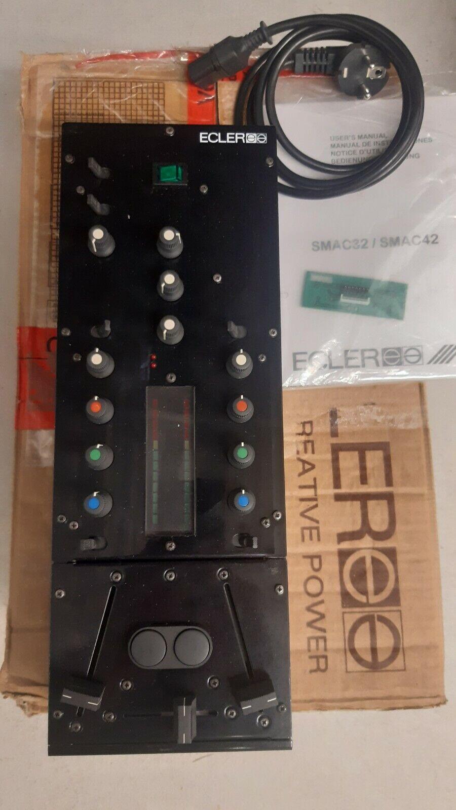 Ecler Smac32 Professional DJ Mixer Battlemixer komplett schwarz