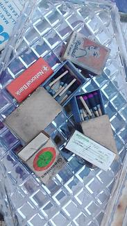 Vintage matches boxes