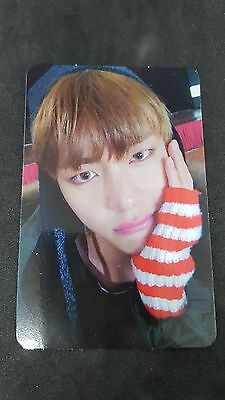 BTS Bangtan Official V Taehyung Photo Card You Never Walk Alone YNWA Photocard