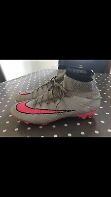 Nike Mercurial Superfly FG PINK/GREY rare