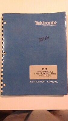 Tektronix 492p Spectrum Analyzer Programmers Manual Pn 070-3401-00
