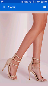 Missguided women's shoes/heels NEW IN BOX