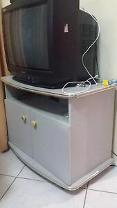 TV UNIT WITH TV AND SIDE TABLES Glendenning Blacktown Area Preview