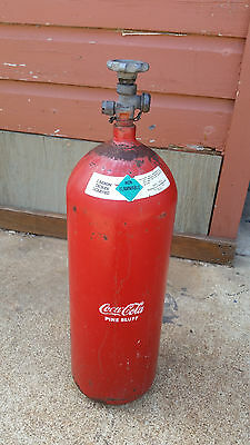 Coca Cola Coke Pine Bluff Commercial Large Co2 Tank For Soda Dispenser System