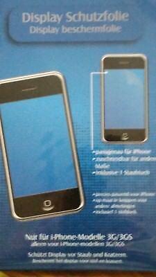 Display Schutzfolie NEU, OVP für I-Phone-Modelle 3G/3GS, incl. Staubtuch gebraucht kaufen  Jena