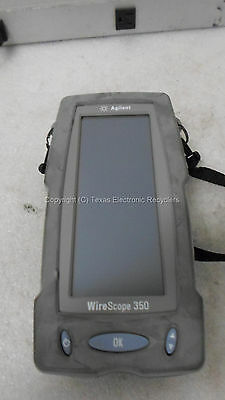 Parts Or Repair - Agilent Wirescope 350 - No Ac Adapter Or Batteries
