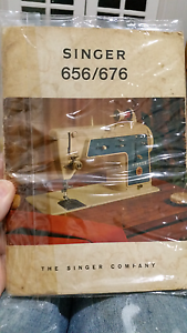 Singer sewing machine manual. 656/676 Nambour Maroochydore Area Preview