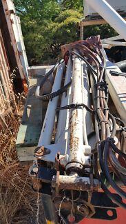 Kevrek 1000 hiab crane 12/24v 2 hyd 1 man exts