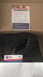 Brand New Steel Blue Work Boots size 10 1/2