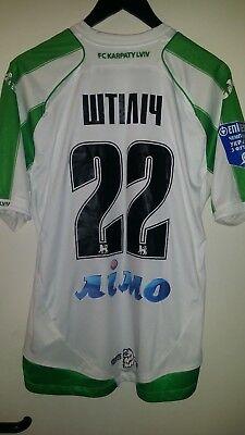 Trikot Fußball FC Karpaty Lviv Semir Stilic 2012 joma L grün image
