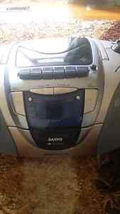 Sanyo portable  cd and cassette player Glen Waverley Monash Area Preview