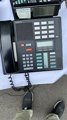Nortel Norstar Mics Business Telephone System With 7 Phones And Voicemail