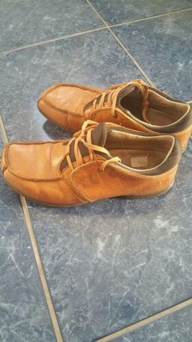 Hub Footwear Herrenschuh, Sneaker, Halbschuh, Größe 42 Echtleder Hellbraun