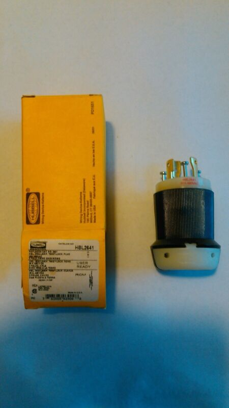 Hubbell Wiring Device- Connector HBL2641 User Ready