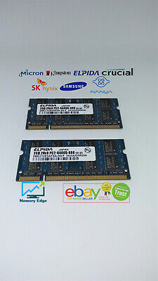 4GB KIT RAM for Apple MacBook 13-inch (Mid 2009) DDR2 (2x2GB memory)(B4) 2x2gb Ddr2 Memory Kit